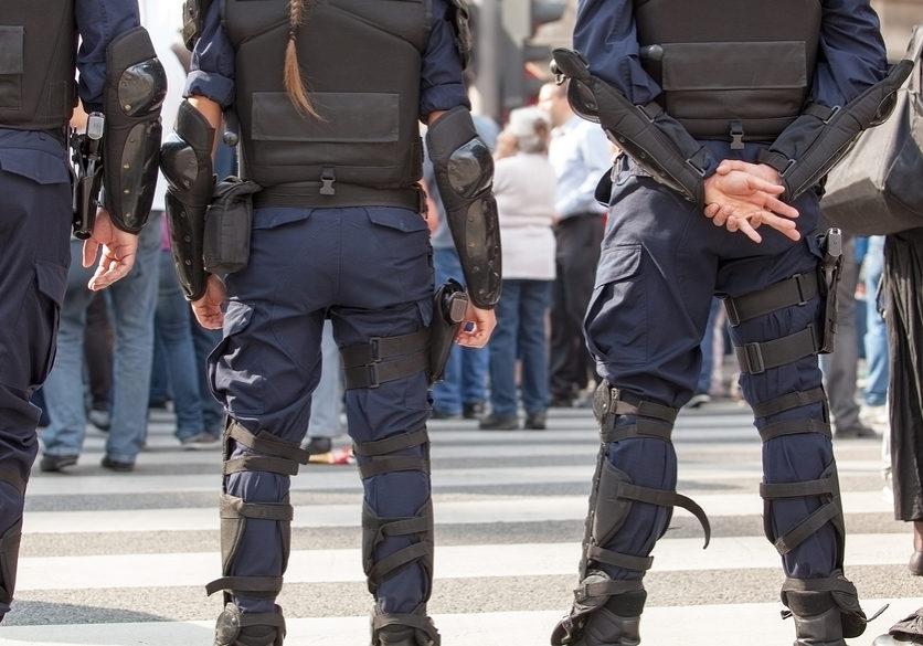 police assault